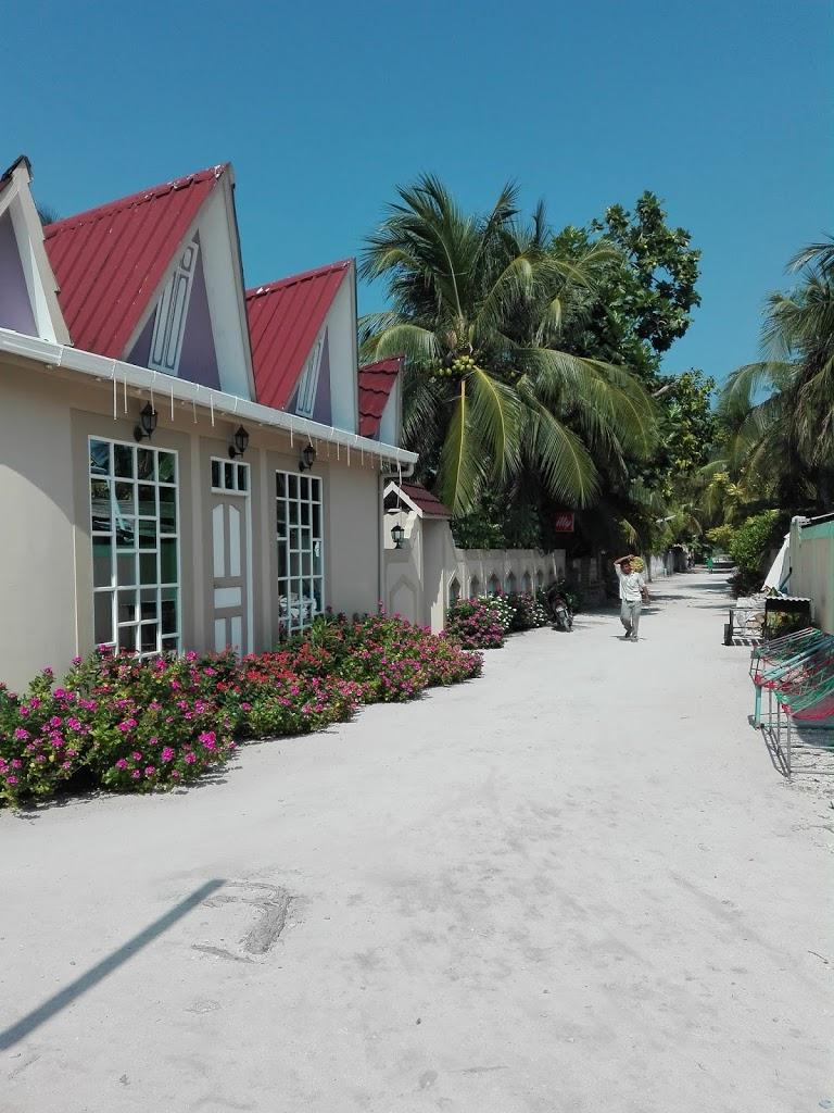 La nostra Guesthouse in una stradina di un'isola di pescatori