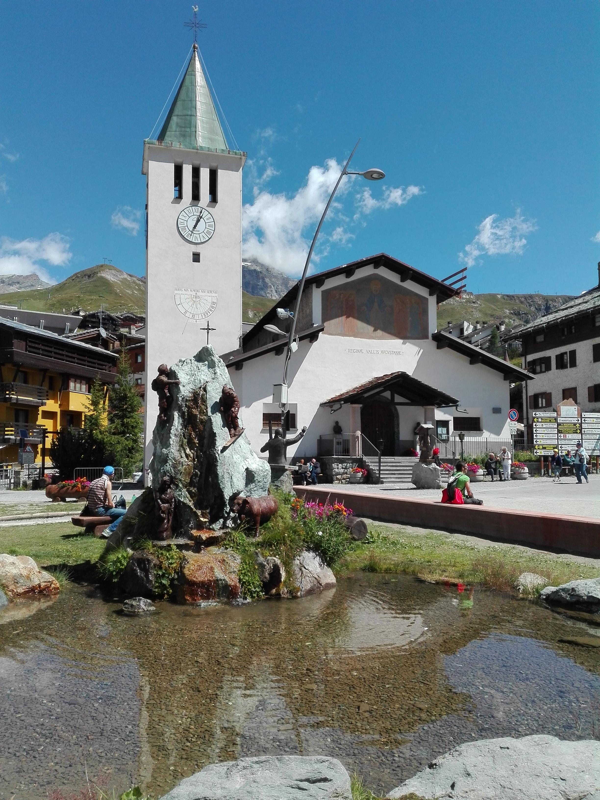 Cervinia - Chiesa Madonna delle Nevi