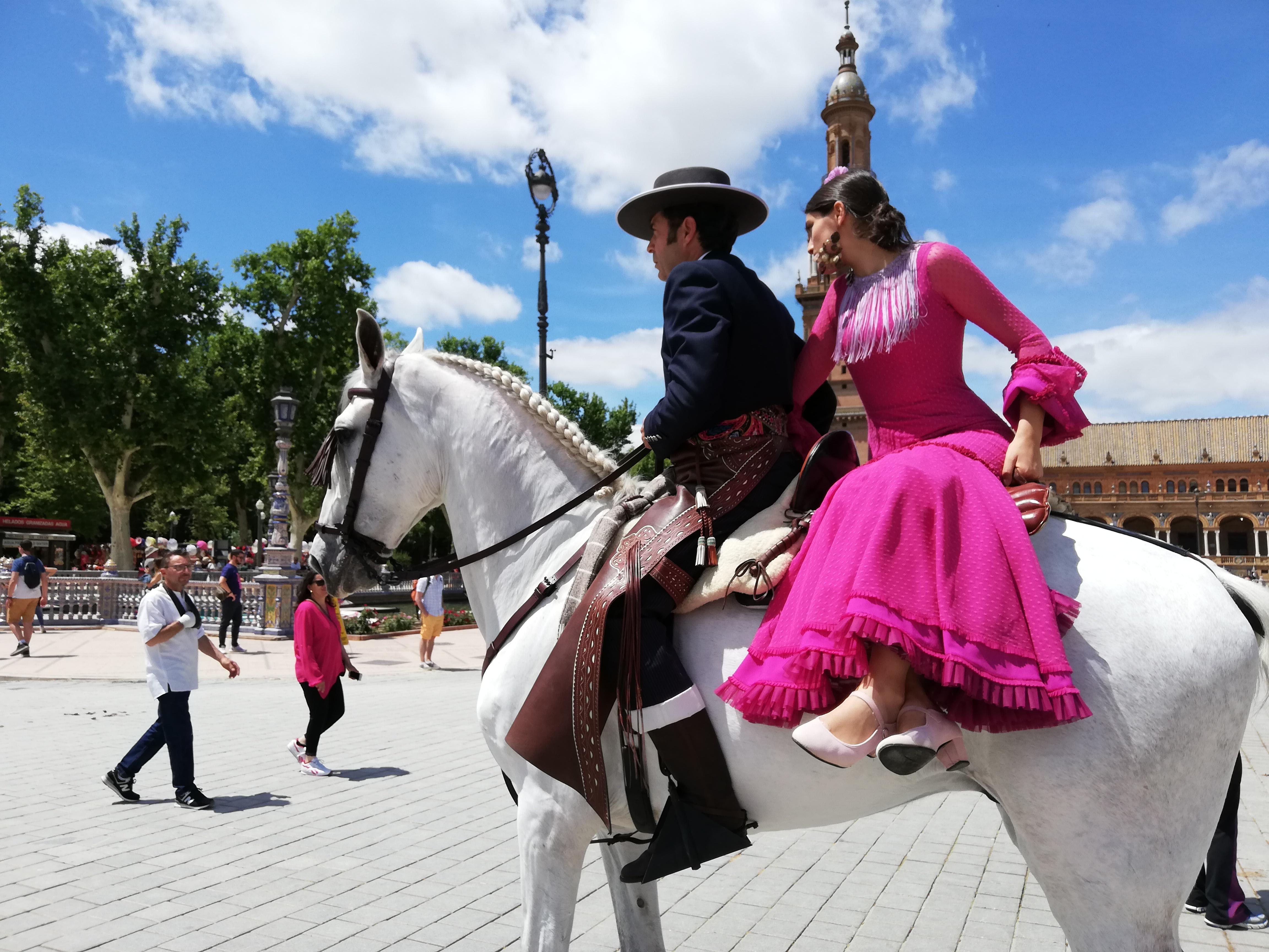 Feria de Abril - vestiti tradizionali
