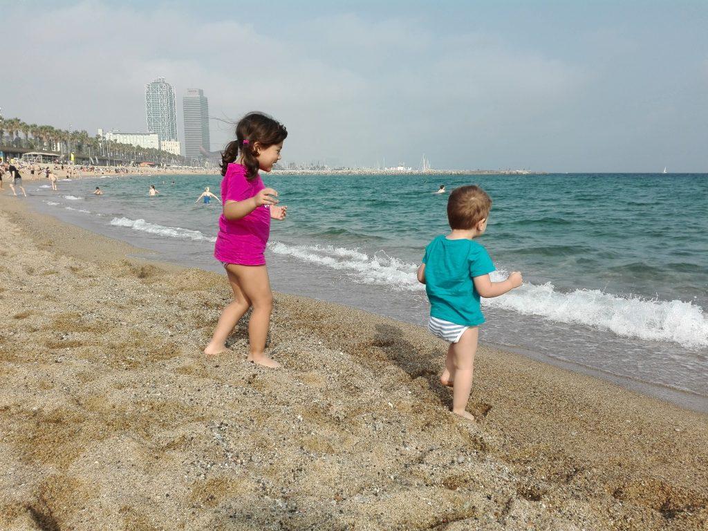 spiaggia - la Barceloneta