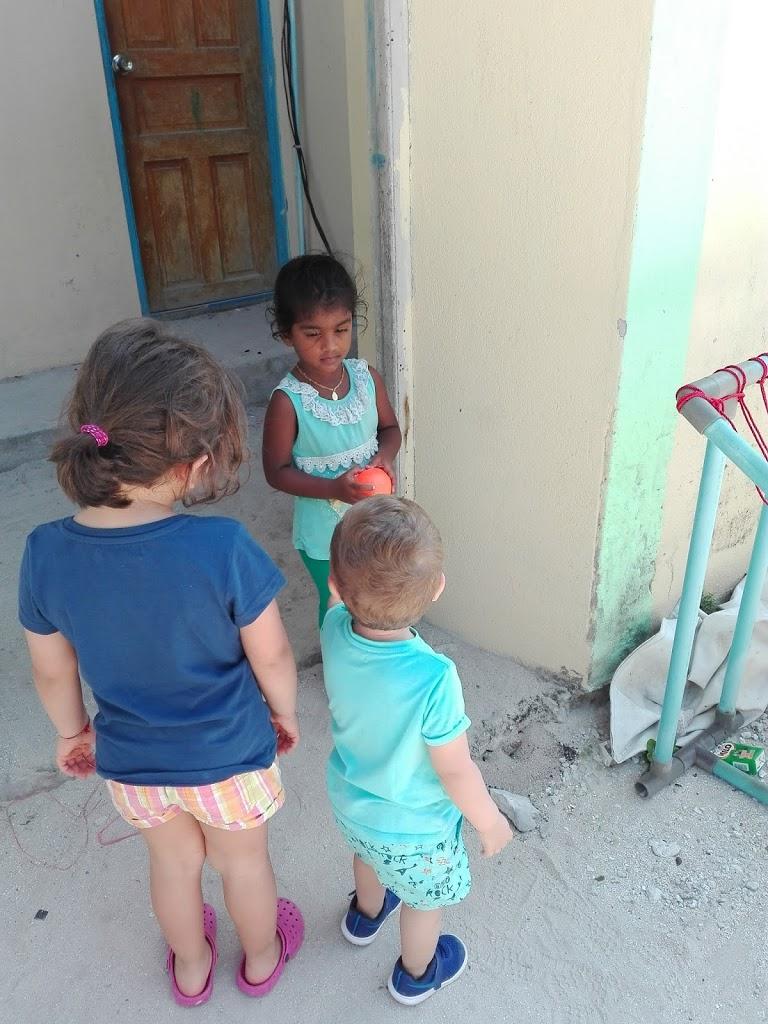 Amicizie nate con i vicini di casa della Guesthouse