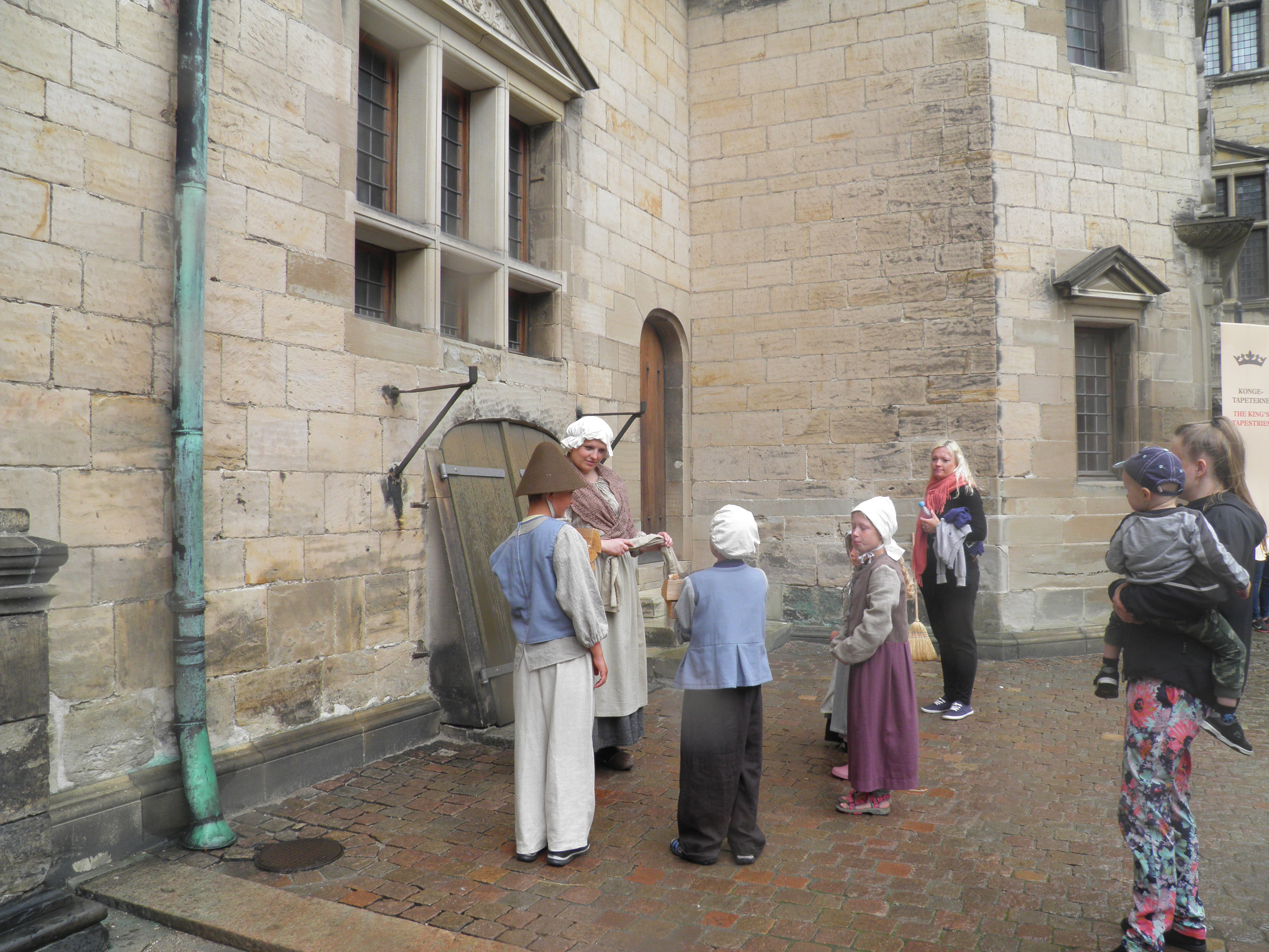 Rievocazione antichi costumi d'epoca - Kronborg Castle
