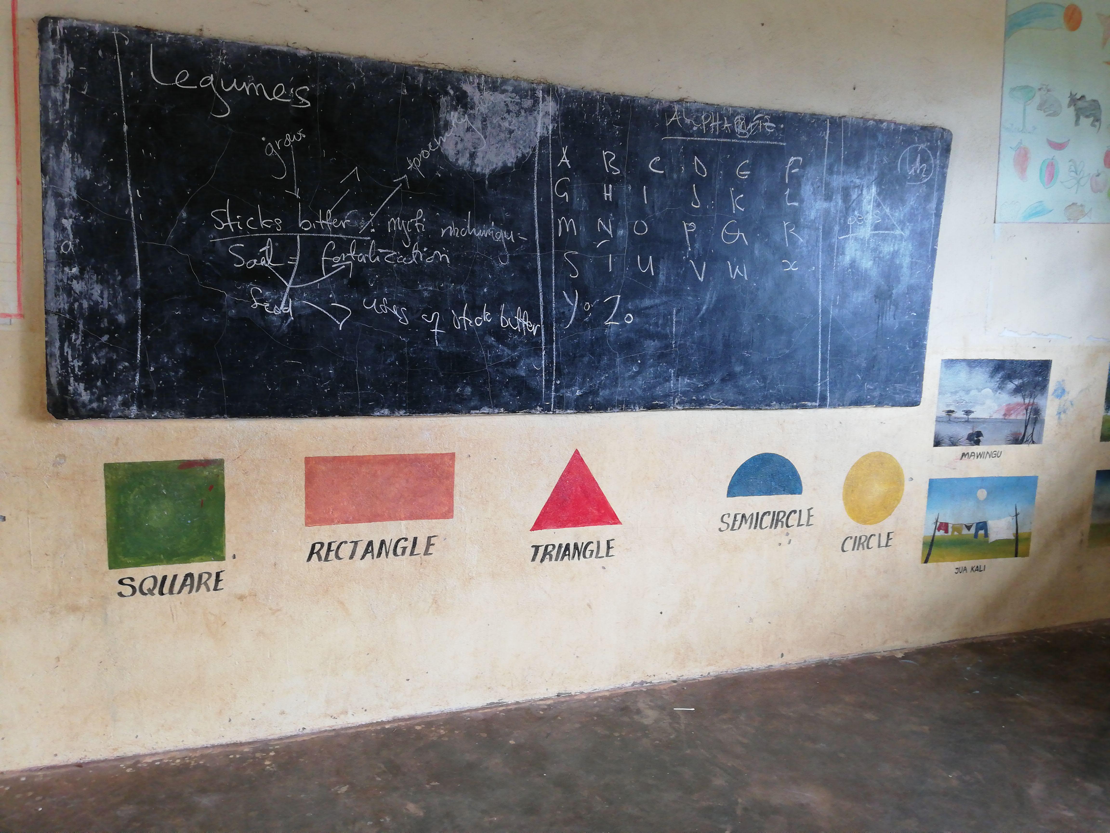 Visitare un asilo a Zanzibar