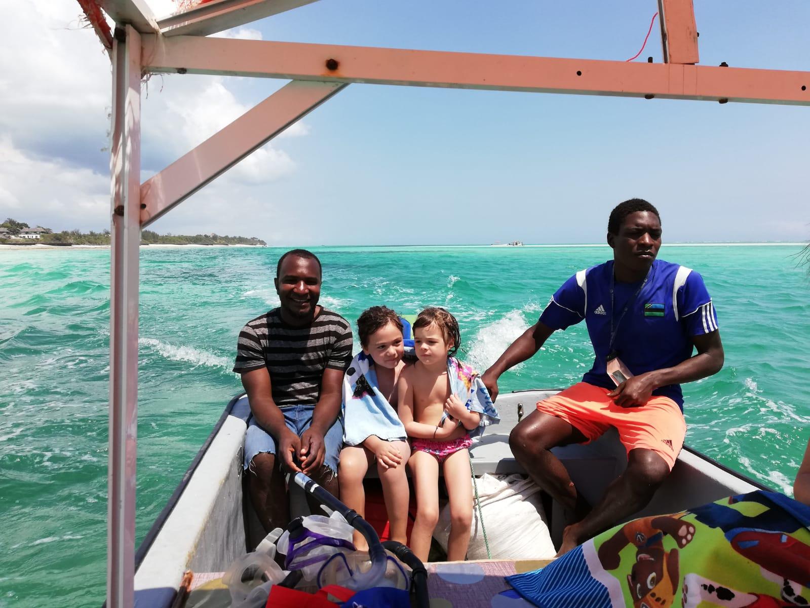 10 cose da fare a Zanzibar - in barca verso l'atollo di Mnemba