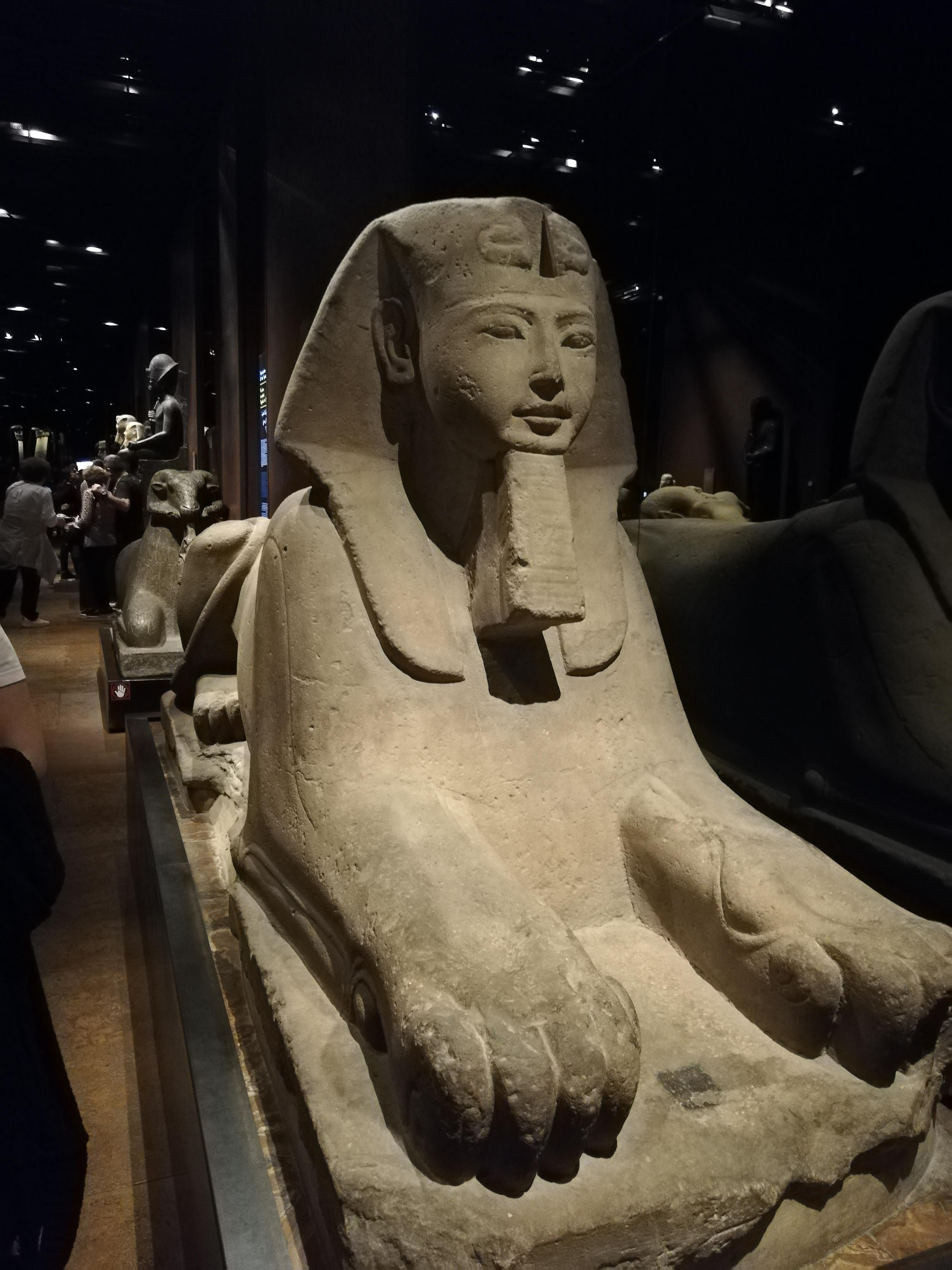 Sfinge proveniente da Karnak