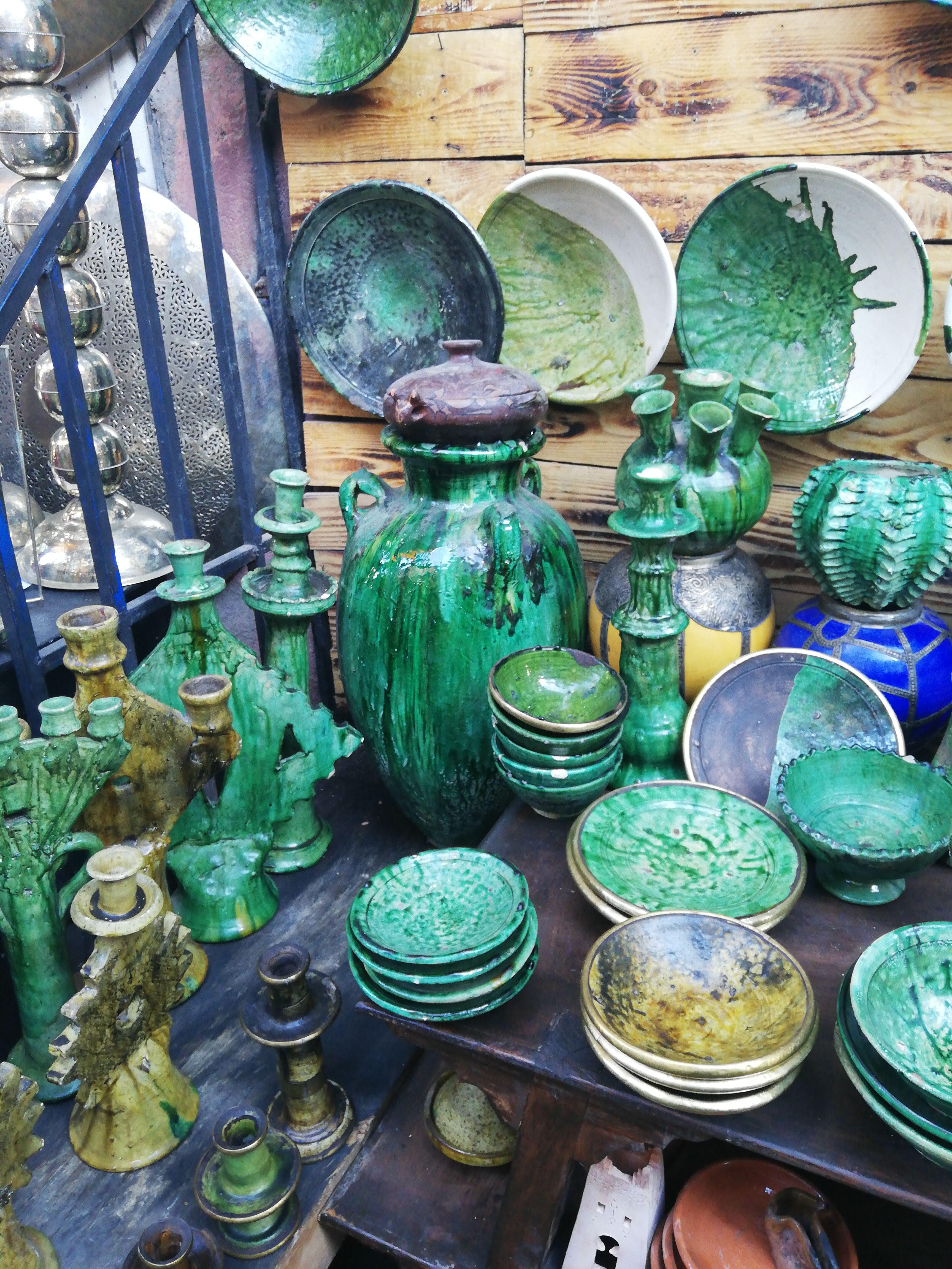 Colori del Souk di Marrakesh