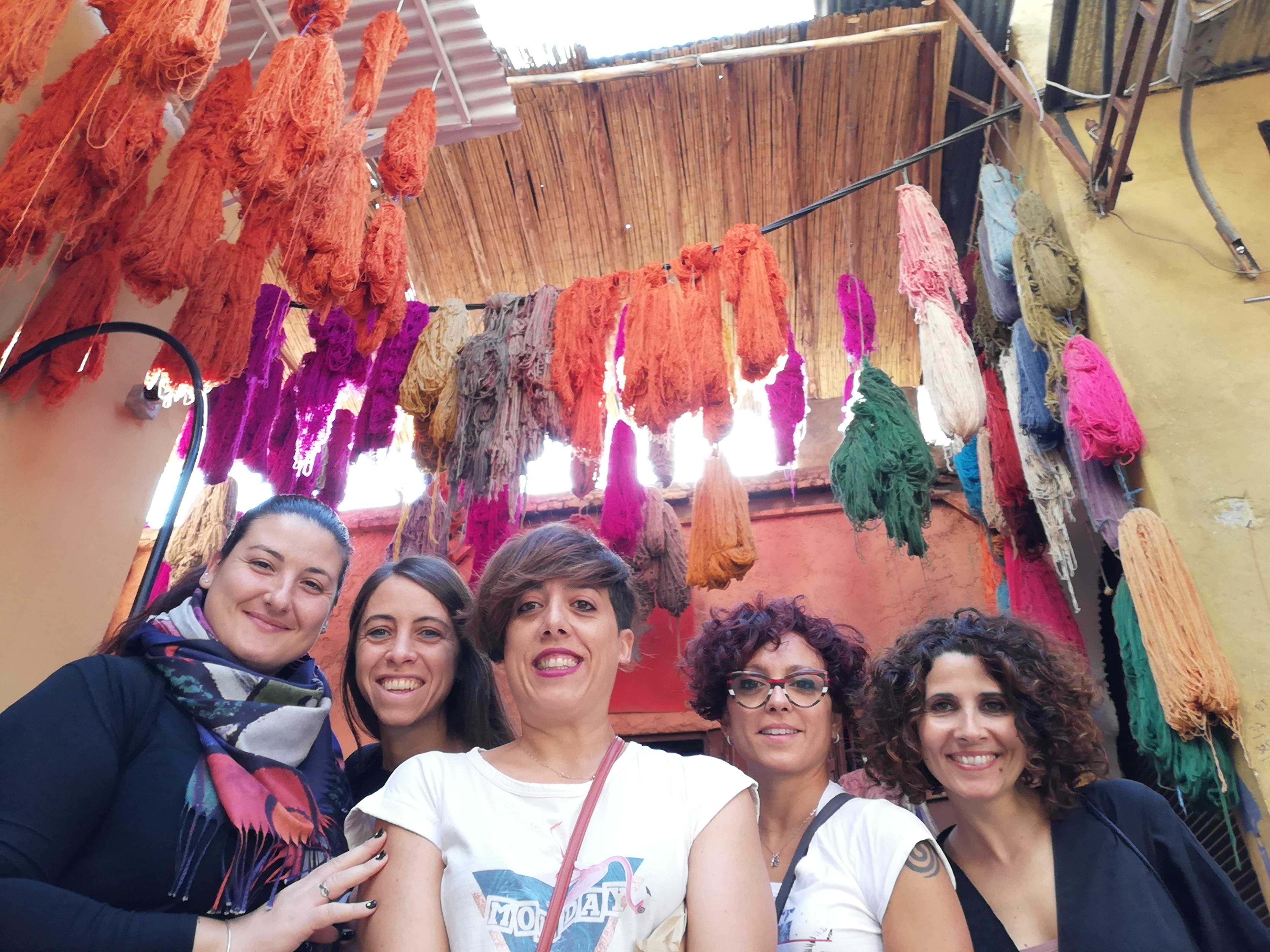 Marrakesh con le amiche