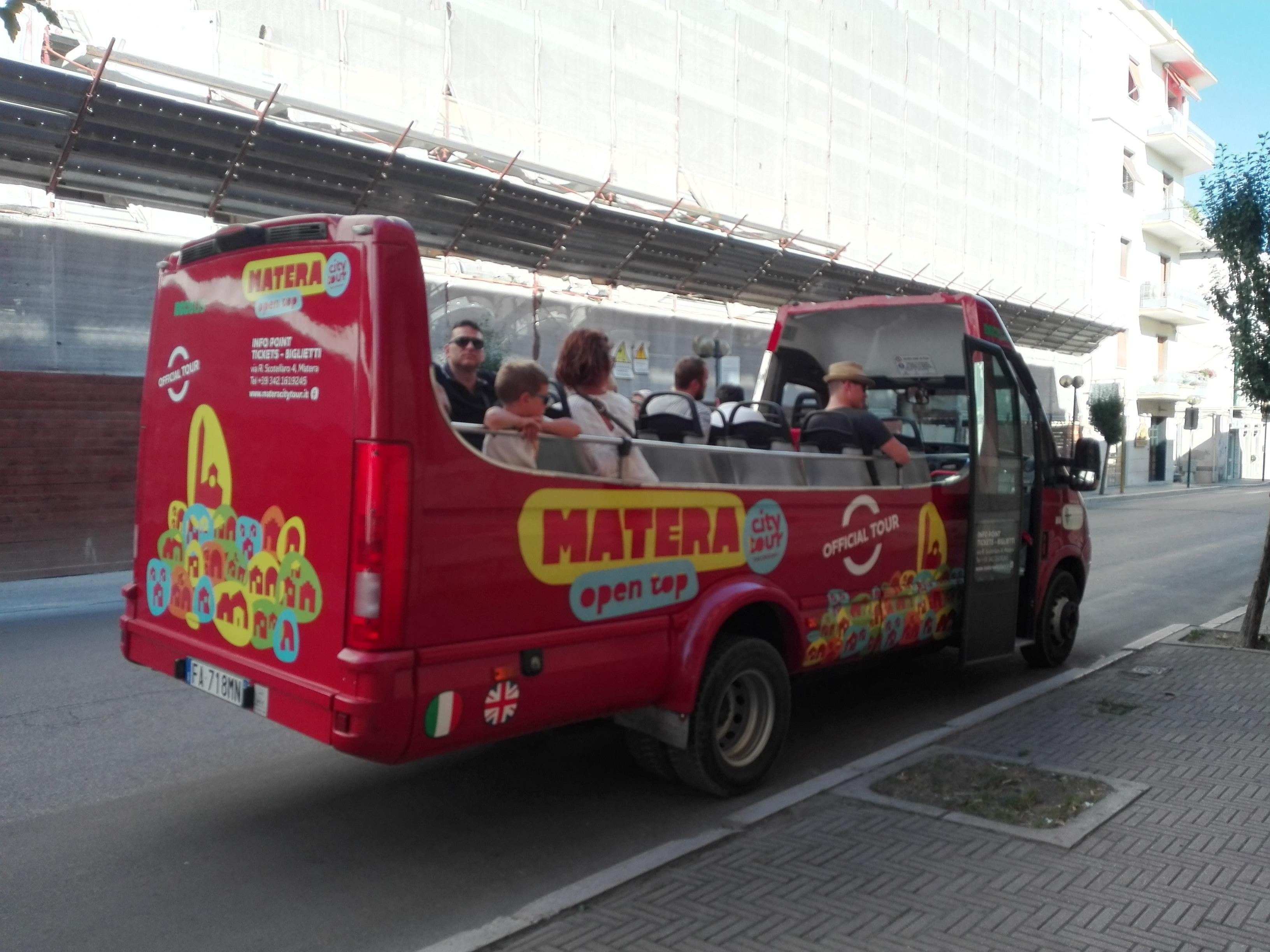 Bus Matera City Tour