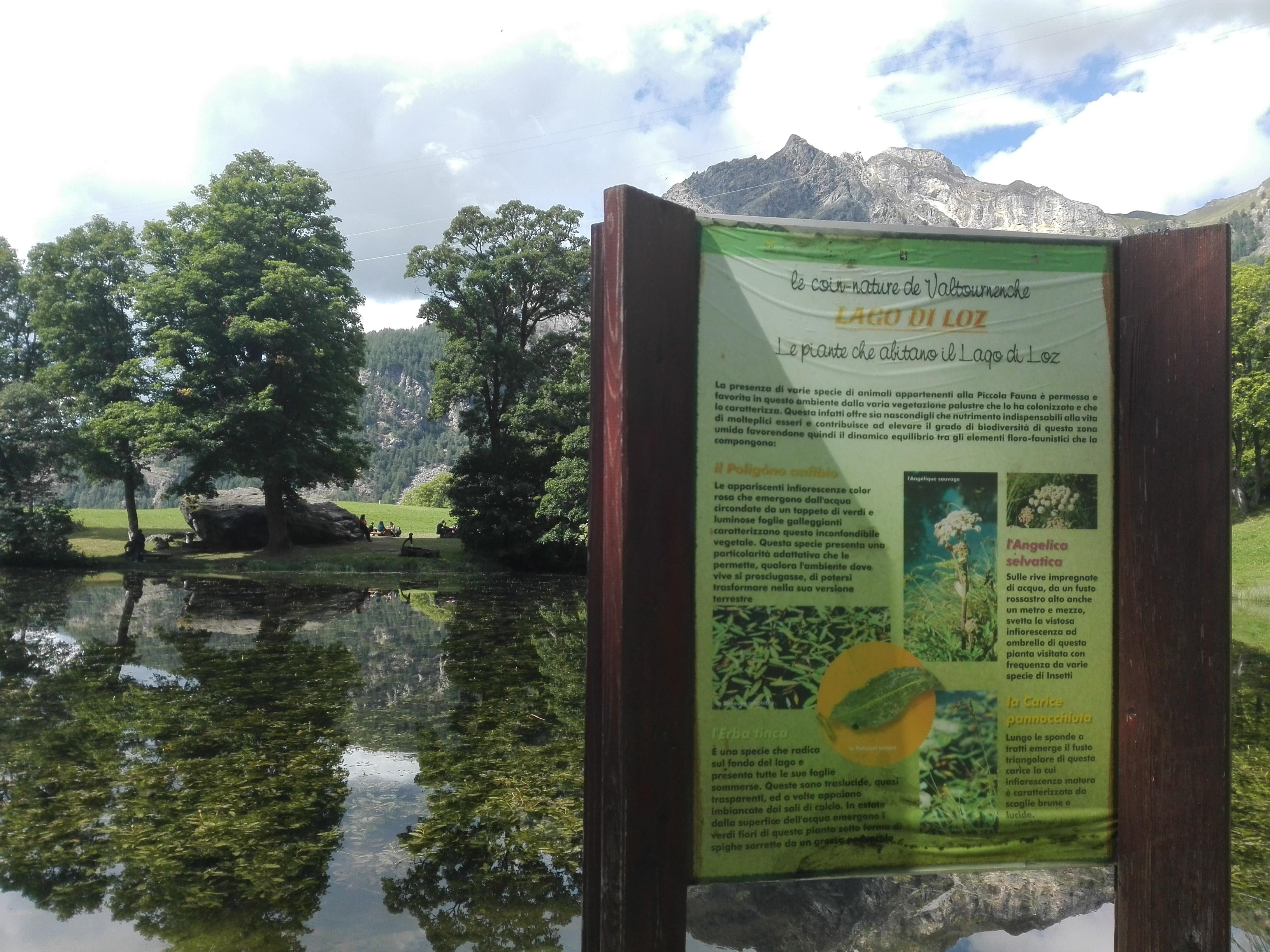 Valturnenche - Lago di Loz