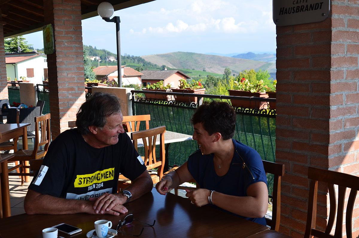 briefing pre-volo con Graziano - Parapendio: il mio primo volo