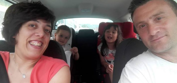 in viaggio in auto con Goldcar - formazione al completo!