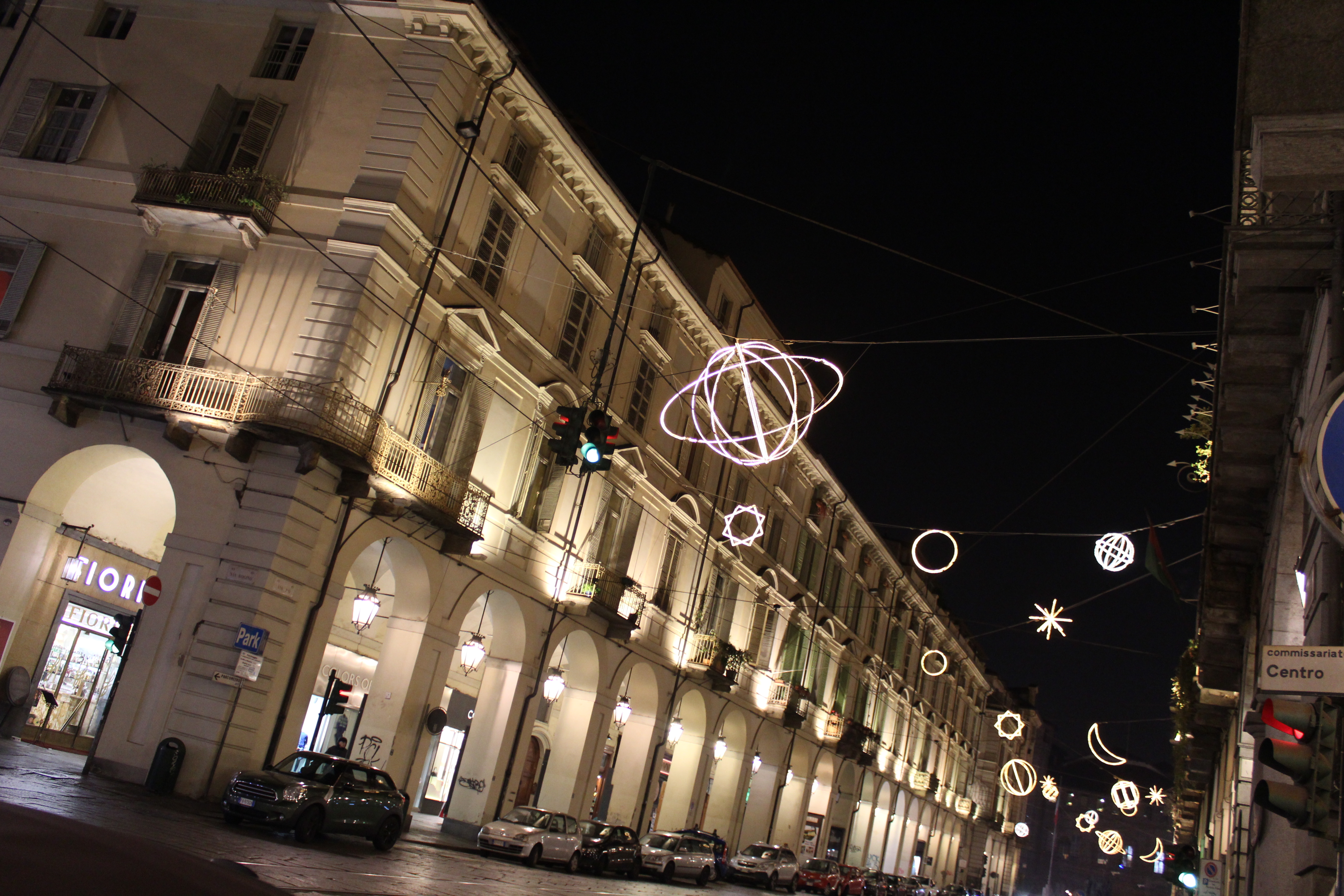 Via Po - Luci d'artista Torino