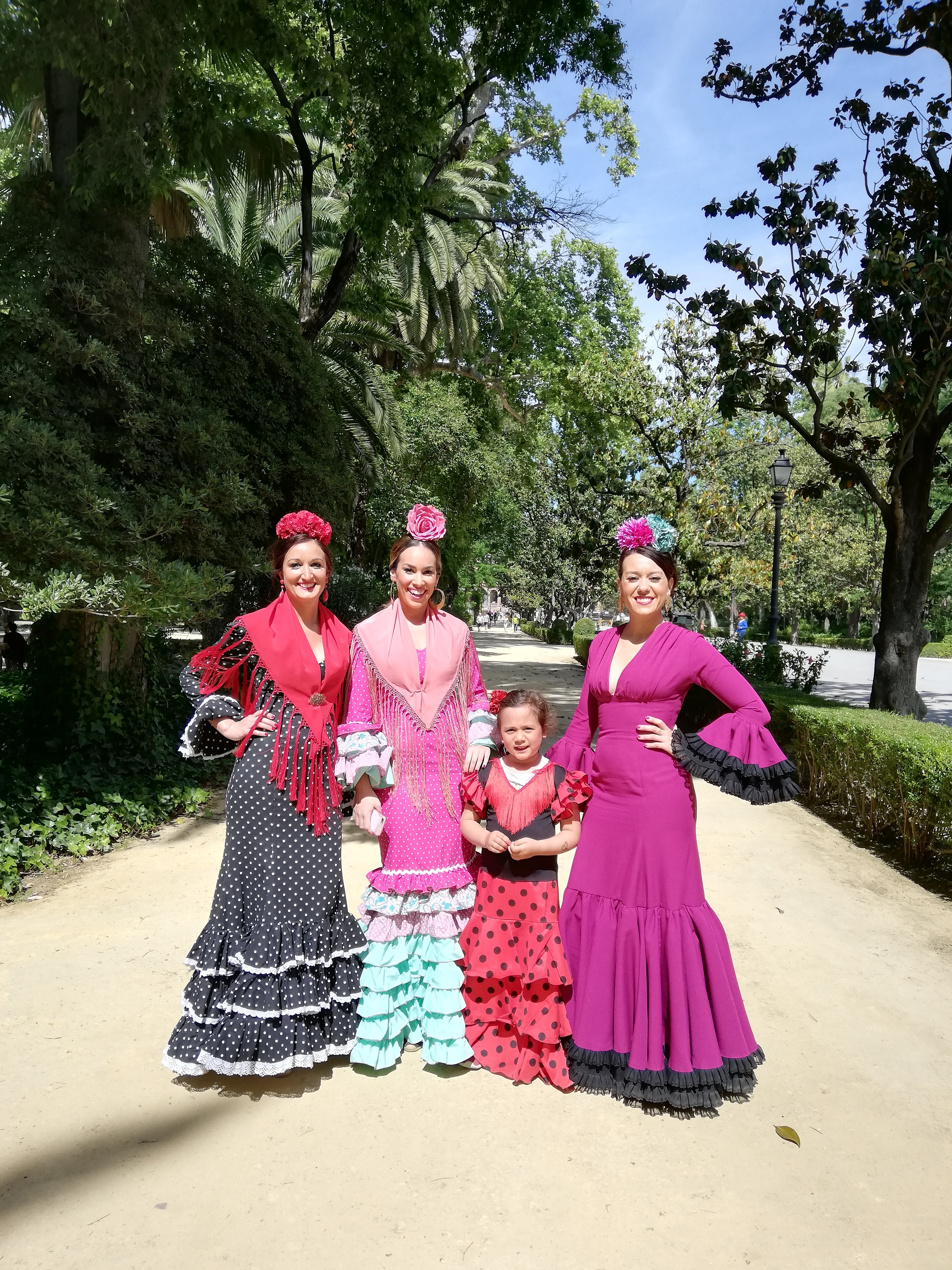 Flamencas a Siviglia