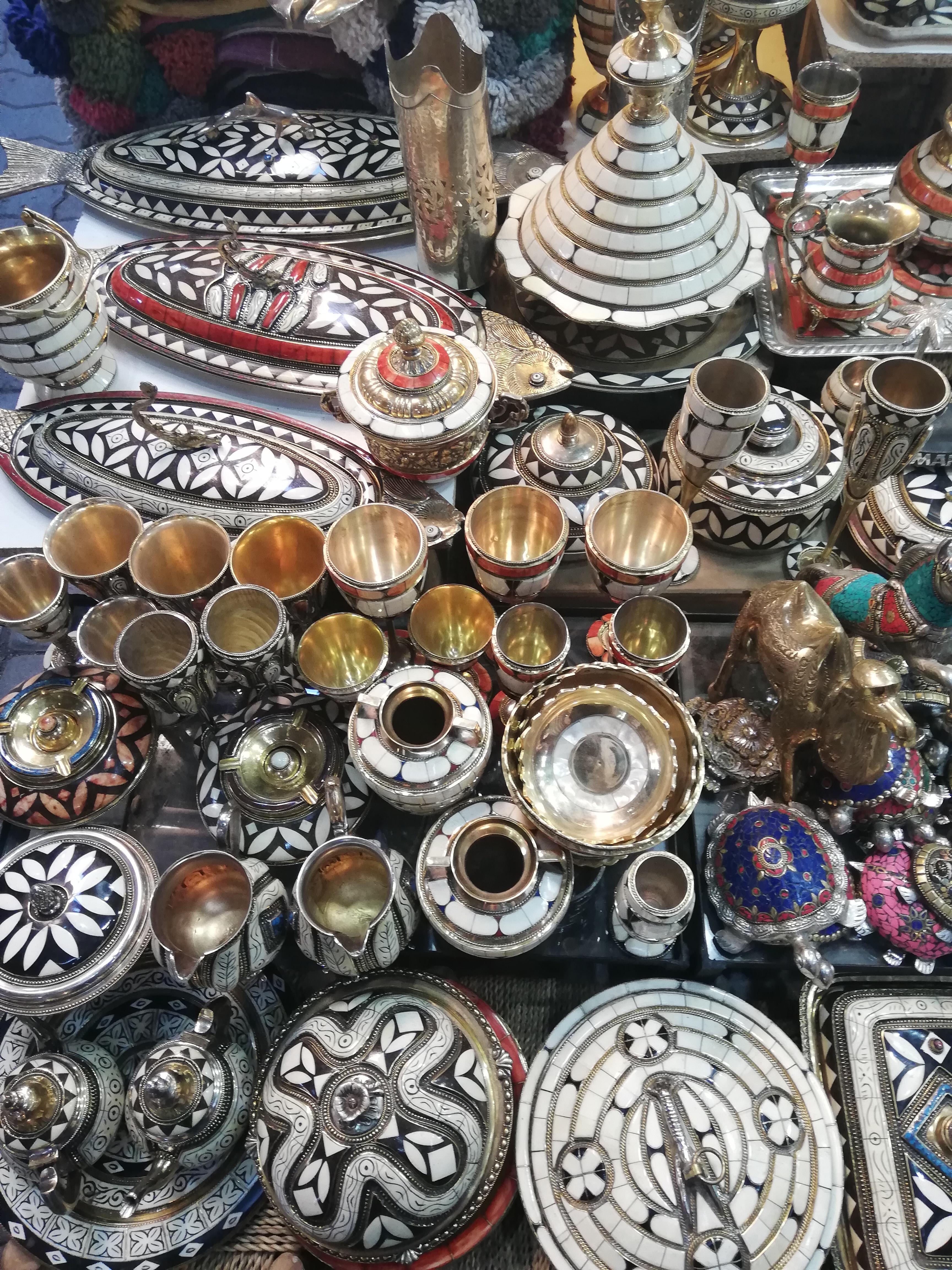 Souk di Marrakesh