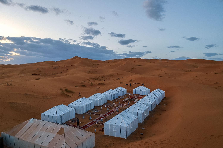 Una notte nel deserto con Piedini in Viaggio
